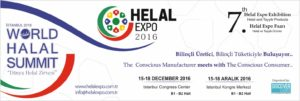 HALAL EXPO 2016 will be held in Istanbul Cong…